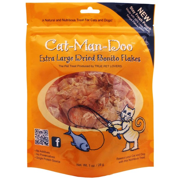 Cat Man Doo Dried Bonito Flake Cat Treats