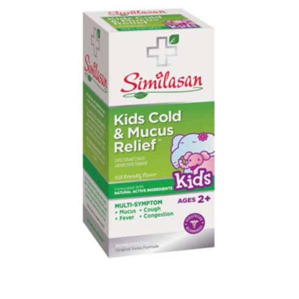 Similasan Kids Cold & Mucus Relief Grape Flavor