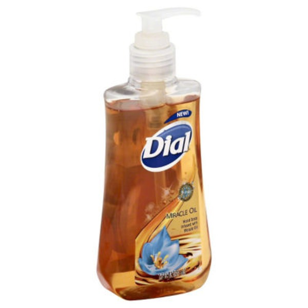 Dial Liquid Hand Soap Miracle Oil Hand Soap