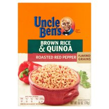 Uncle Ben's Roasted Red Pepper Brown Rice & Quinoa, 6.0 oz