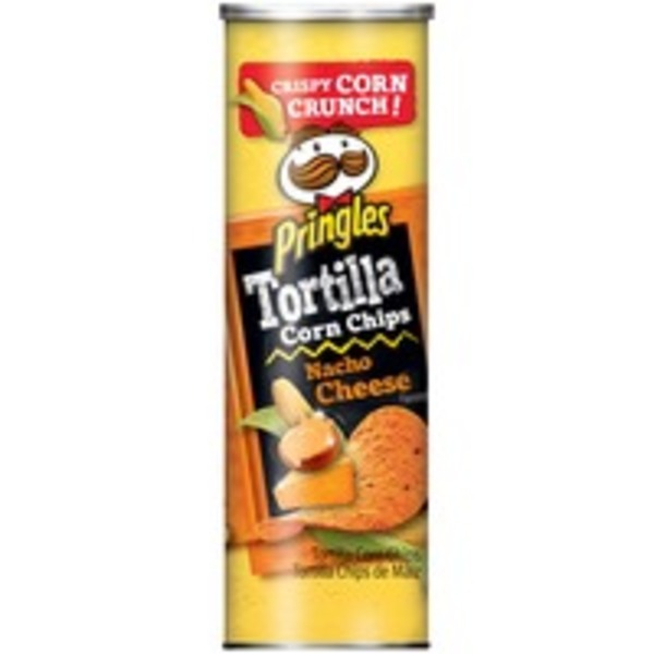 Pringles Truly Original Black Bean Tortilla Corn Crisps