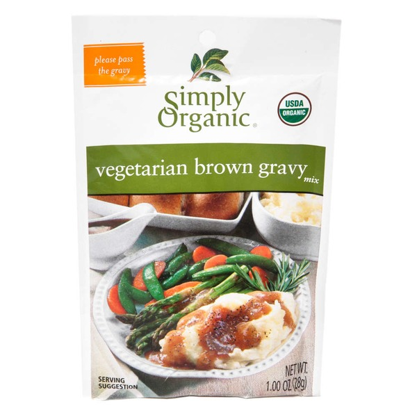 Simply Organic Certified Organic Vegetarian Brown Gravy Seasoning Mix