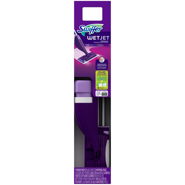 Swiffer WetJet Swiffer WetJet Hardwood Floor Spray Mop Starter Kit Surface Care