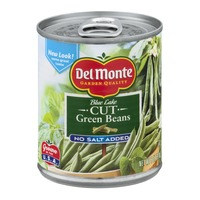 Del Monte Blue Lake Cut No Salt Added Green Beans