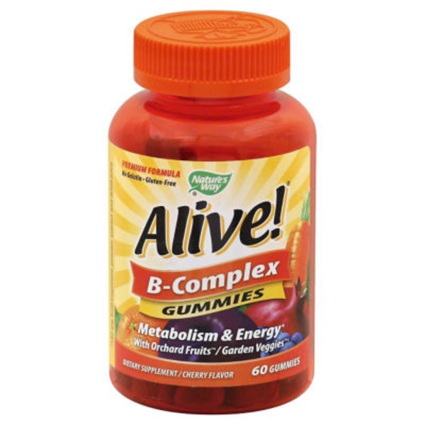 Nature's Way Alive! B-Complex Gummies - 60 CT