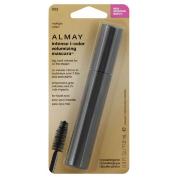 Almay Volumizing Mascara for Hazel Eyes Midnight 033