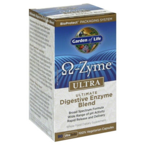 Garden of Life Omega Zyme Digestive Enzyme Blend