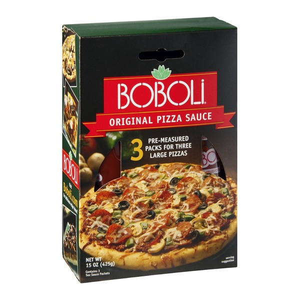 Boboli Traditional Italian Pizza Sauce - 3 CT