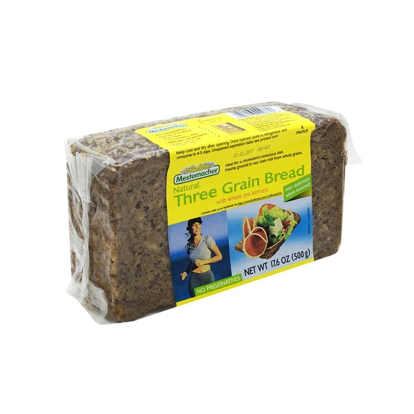 Mestemacher Bread, Organic Three Grain