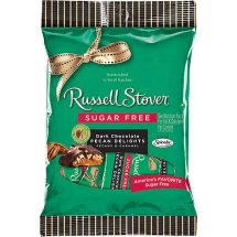 Russell Stover Sugar Free Dark Chocolate Pecan Delights, 3 oz