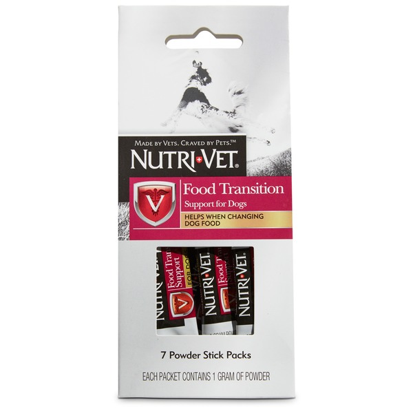 Nutiva Food Transition Support For Dogs Powder Stick Packs