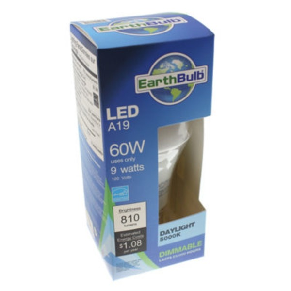 Earthtronics Led 9 W Bright White