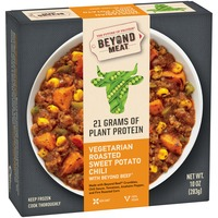 Beyond Meat Vegetarian Roasted Sweet Potato Chili with Beyond Beef Frozen Entree
