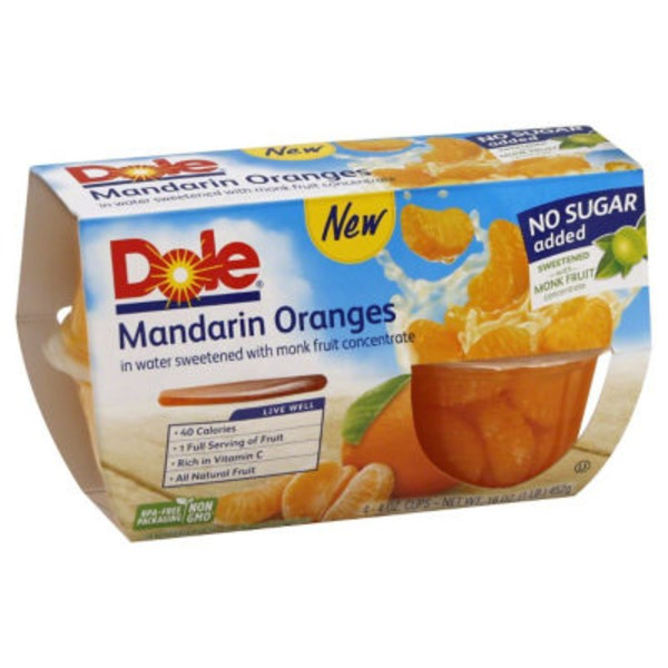 Dole Mandarin Oranges, No Sugar Added