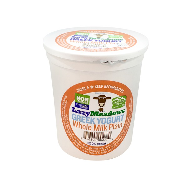 Lazy Meadows Plain Greek Yogurt