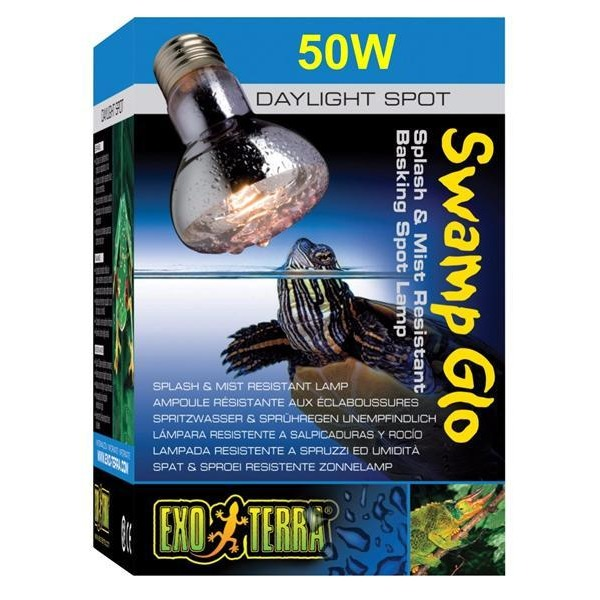 Exo Terra Splash Proof 50 W Swamp Basking Spot lamp