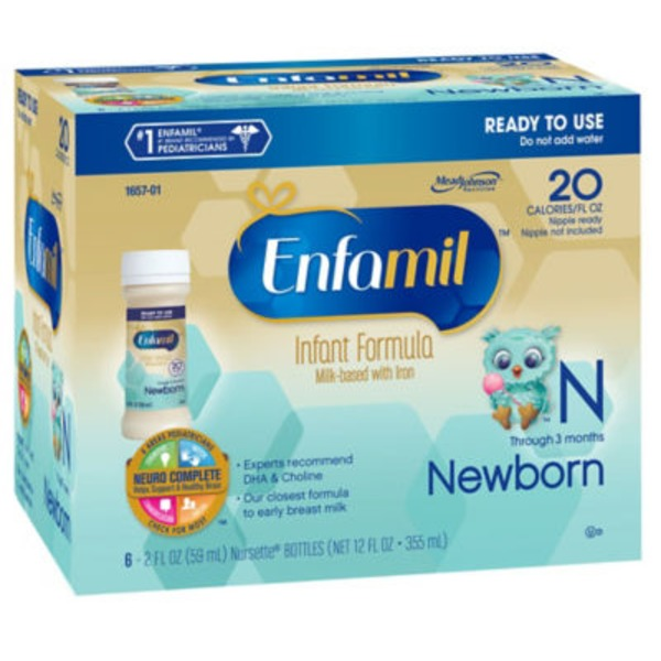 Enfamil Newborn Premium Newborn Ready to Use Infant Formula
