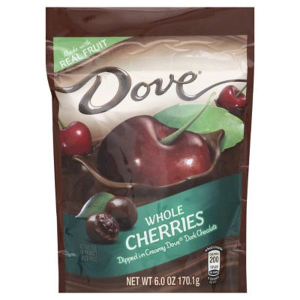 Dove Cherries Dipped in Dark Chocolate