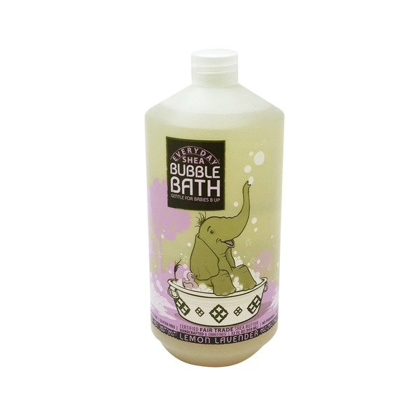 Alaffia Lemon Lavender Shea Bubble Bath