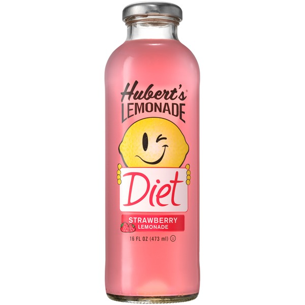 Hubert's Diet Strawberry Lemonade