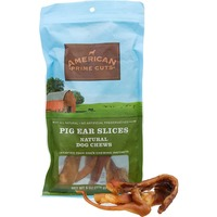 American Prime Cuts Prime Cuts Pig Ear Slices Dog Chews