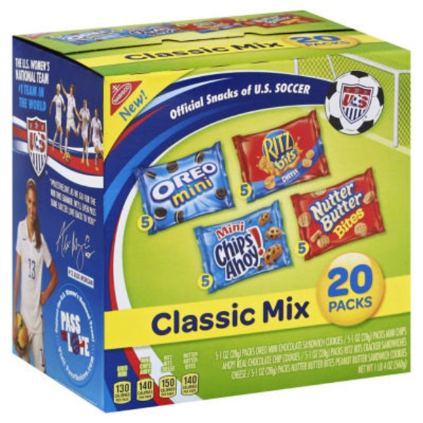Nabisco Variety Pack Classic Mix Cookies & Crackers