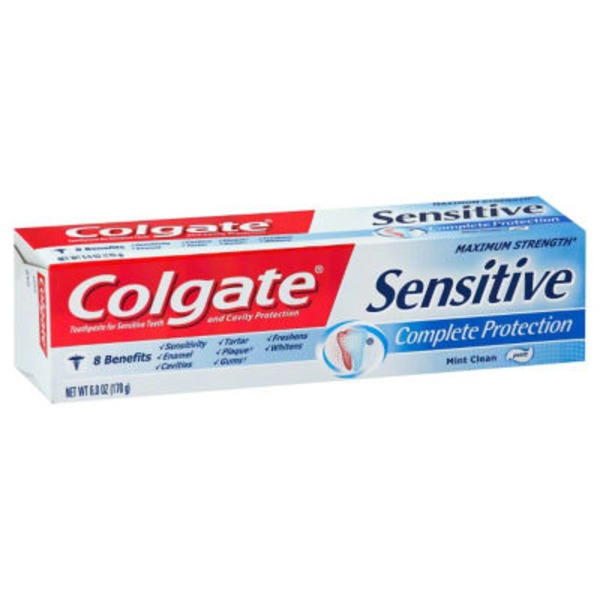 Colgate Sensitive Maximum Strength Toothpaste Mint Clean