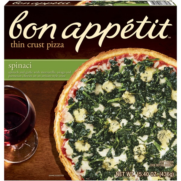 Bon Appetit Thin Crust Spinaci Pizza