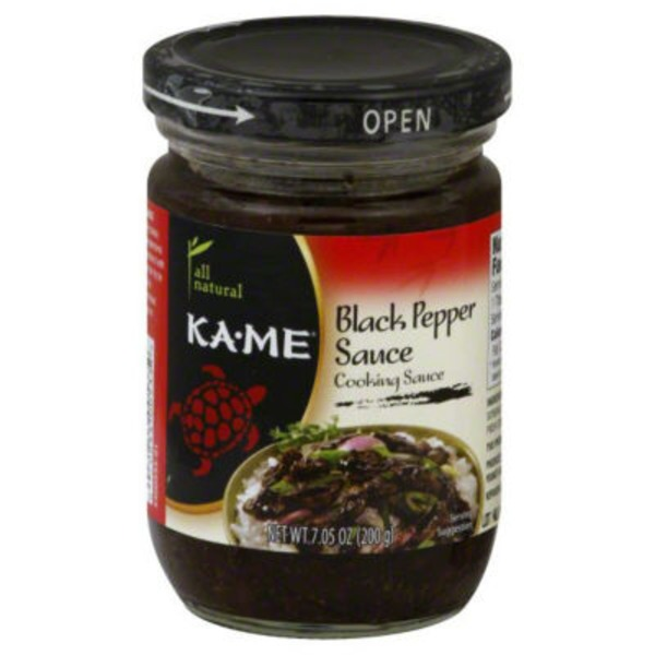 KA-ME All Natural Black Pepper Sauce