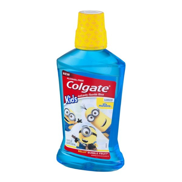 Colgate Kids Anticavity Fluoride Rinse Bello Bubble Fruit