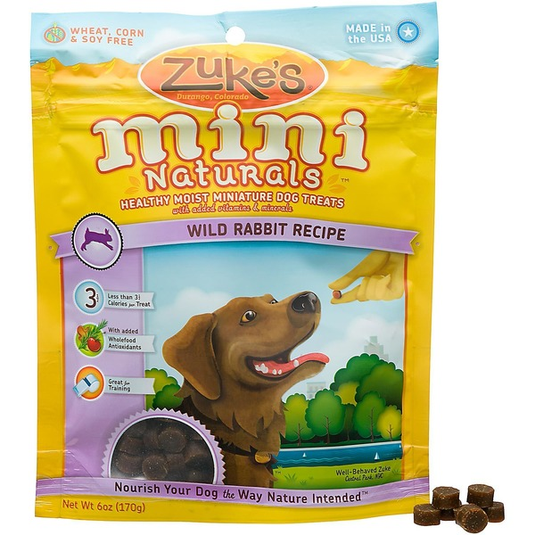 Zuke's Mini Naturals Wild Rabbit Dog Treats