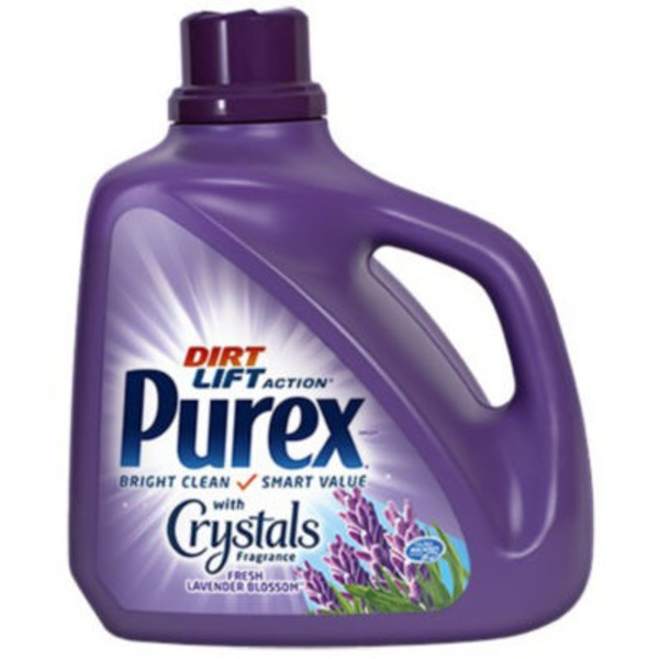 Purex Liquid Detergents Dirt Lift Action with Crystals Fragrance Fresh Lavender Blossom Laundry Detergent
