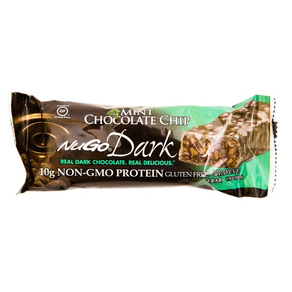 NuGo Mint Chocolate Chip Protein Bar