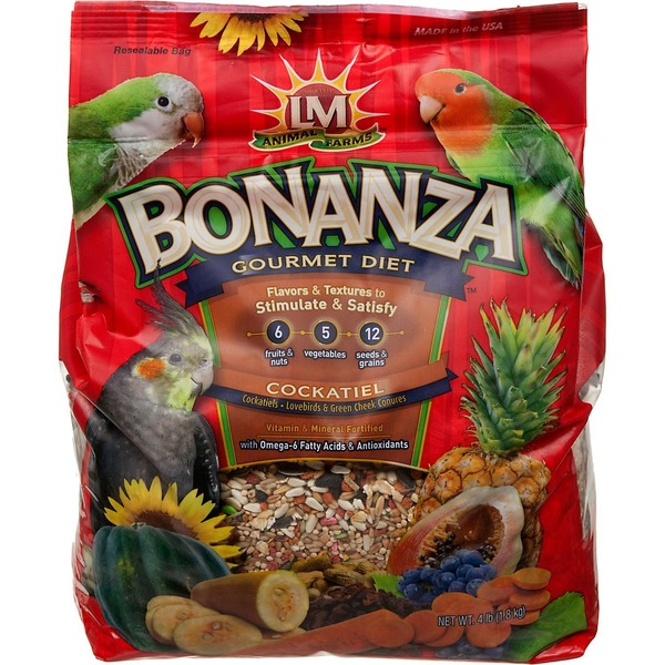 LM Animal Farms Bonanza Gourmet Diet Cockatiel