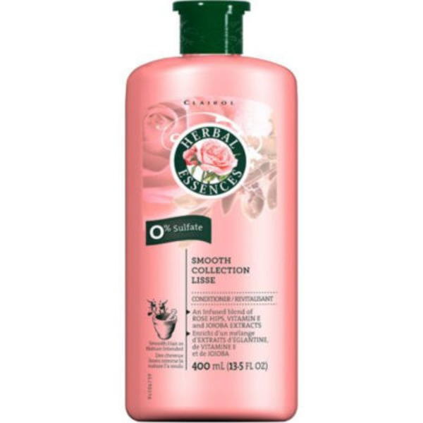 Herbal Essences Dry/Damaged Herbal Essences Smooth Collection Conditioner 13.5 Fl Oz - Smoothing Conditioner  Female Hair Care