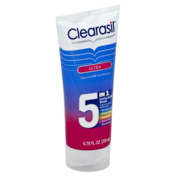 Clearasil Ultra 5-in-1 Exfoliating Wash Acne Medication