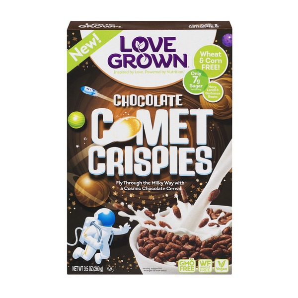 Love Grown Foods Love Grown Chocolate Comet Crispies Cereal