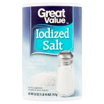 Great Value Iodized Salt, 26 oz