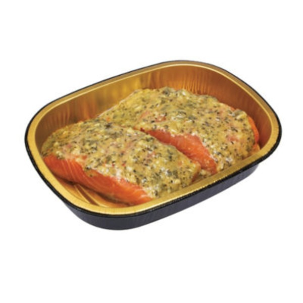H-E-B Entree Simple Garlic Pesto Salmon