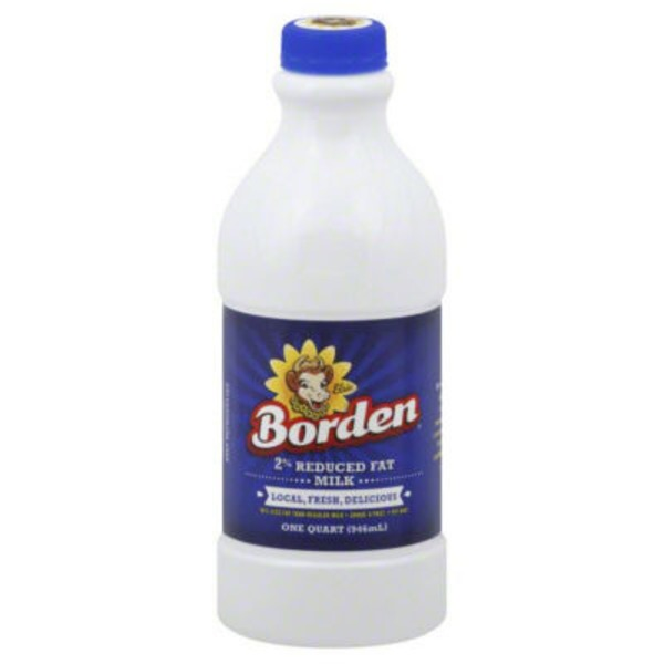 Borden Reduced Fat 2% Milk