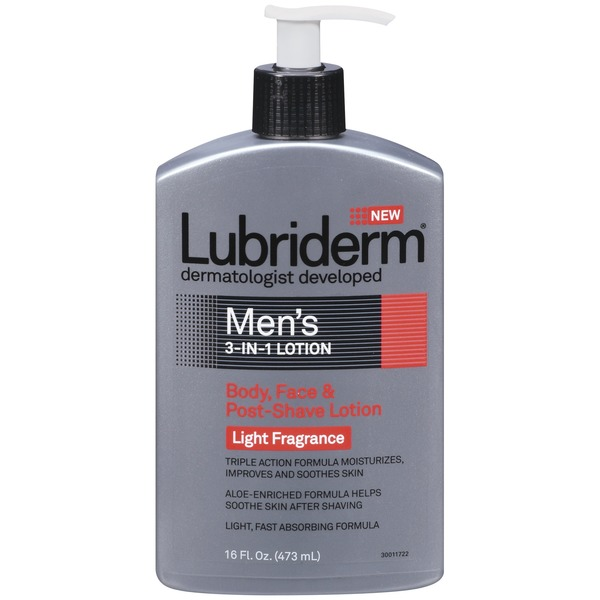 Lubriderm® 3-In-1 Lotion Men's