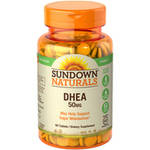 Sundown Naturals DHEA Dietary Supplement Tablets