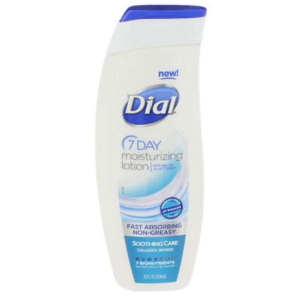 Dial Nutriskin Lotion Soothing Care