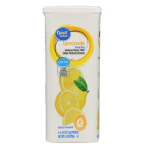 Great Value Drink Mix, Lemonade, Sugar-Free, 3.2 oz, 6 Count