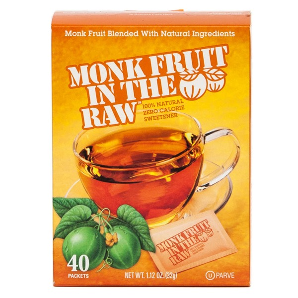 Monk Fruit In The Raw 100% Natural Zero Calorie Sweetener