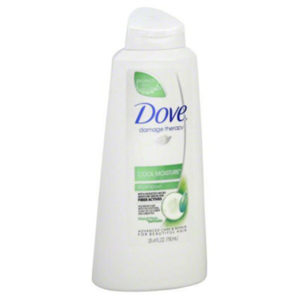 Dove Cool Moisture Shampoo with Pump