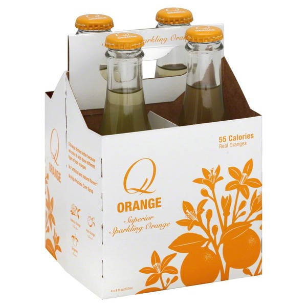 Q Sparkling Orange Soda