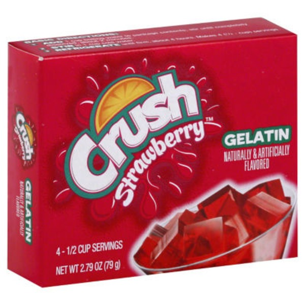 Crush Gelatin Mix Strawberry