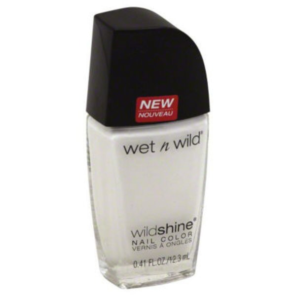 Wet n' Wild Wildshine Nail Color 253B French White Creme