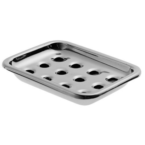 Down to Earth Stainless Steel Soapdish